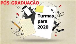 PROGRAMA DE PÓS-GRADUAÇÃO 2020